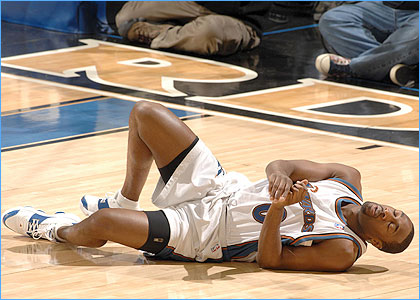 Gilbert Arenas Injury