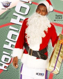 Amare Stoudamire Chistmas Card