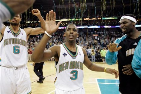 Chris Paul of the New Orleans Hornets