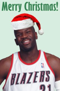 Ruben Patterson Says Merry XMas