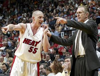 Pat Riley of the Miami Heat